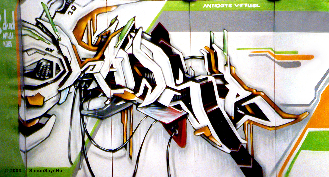 KAWSE 2003 —ELECTRO GRAFFITI