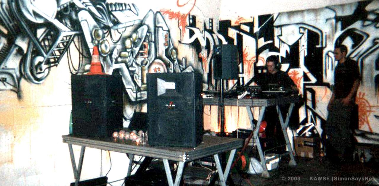 KAWSE 2003 —  GRAPHIC PARTY [Picture]