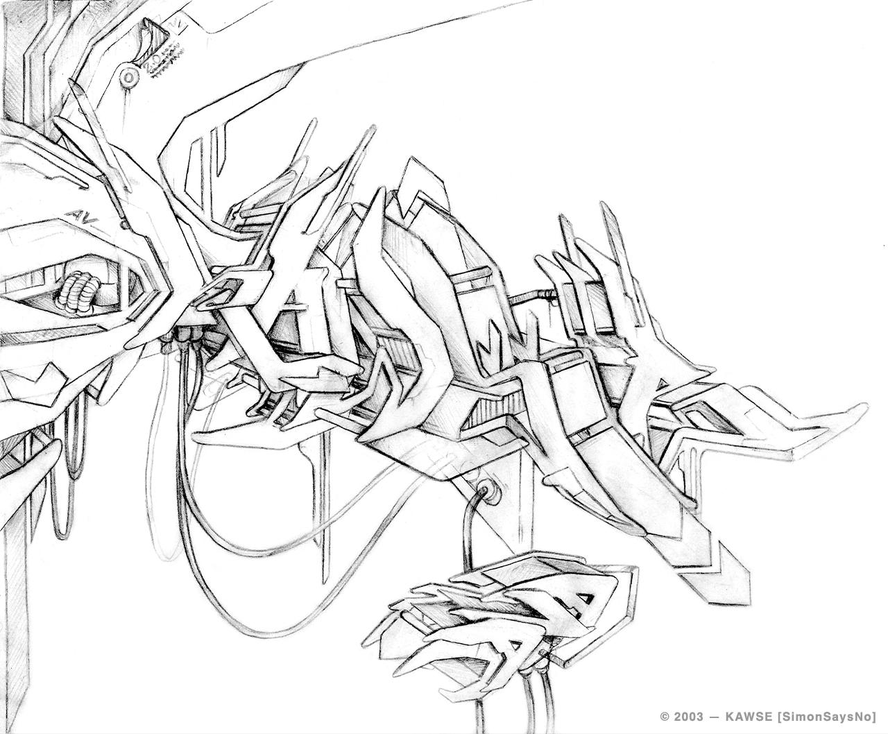 KAWSE 2003  — FUTURISTIC MODULE  [Sketch]