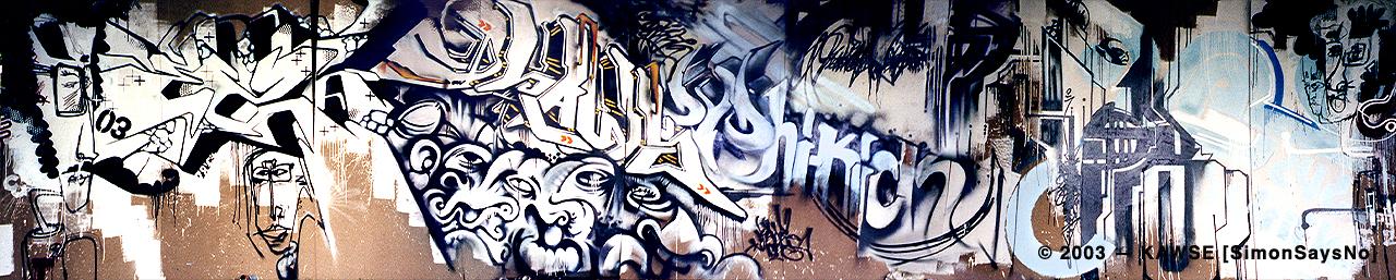 KAWSE 2003 — DVD HI-KICK  [Wall]