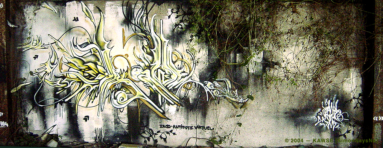 KAWSE 2004 – ASPHALT & FLORA [Graffiti]