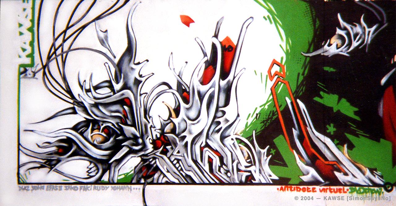 KAWSE 2004 – GRAPHIC & ORGANIC [Graffiti]