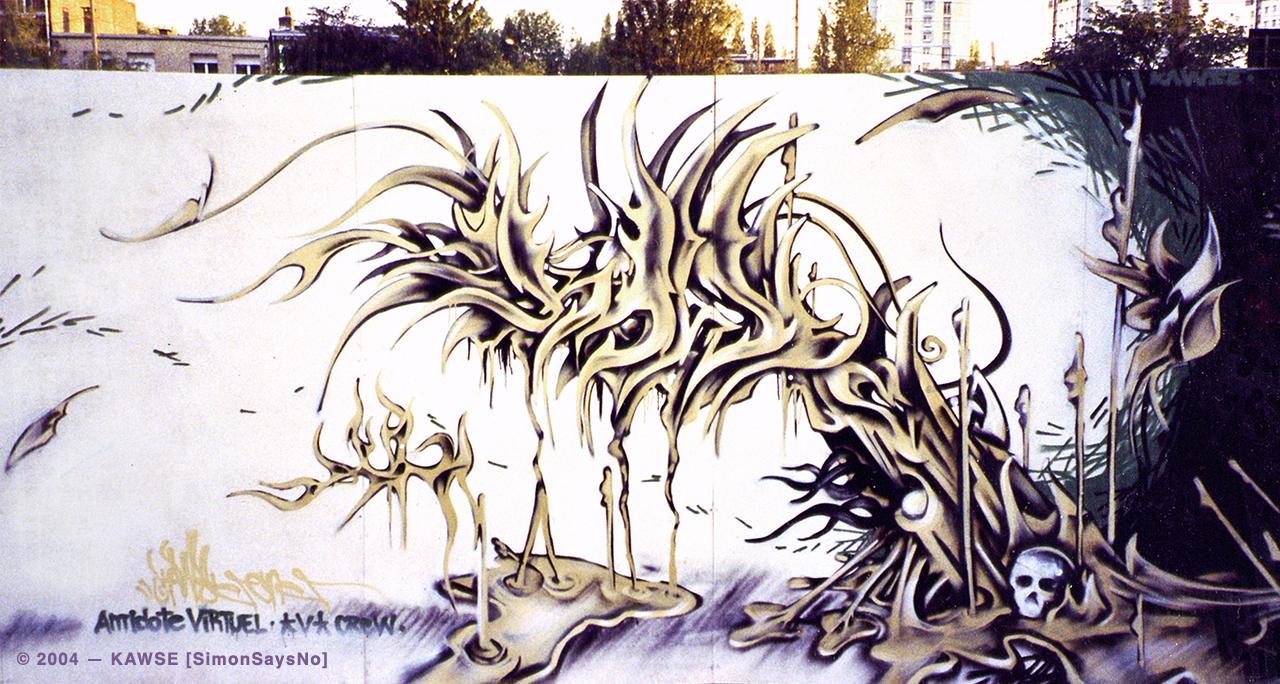 KAWSE 2004 – ORGANIC LIFEFORM  [Graffiti]