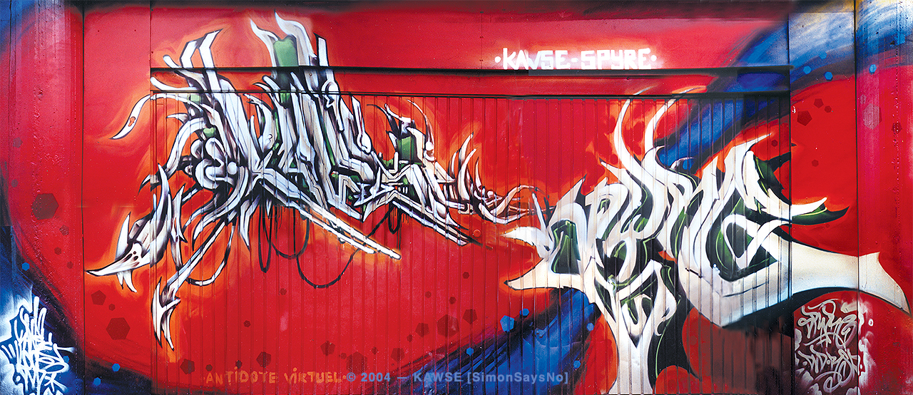 KAWSE 2004 – LEVEL UP with SPYRE [Wall]