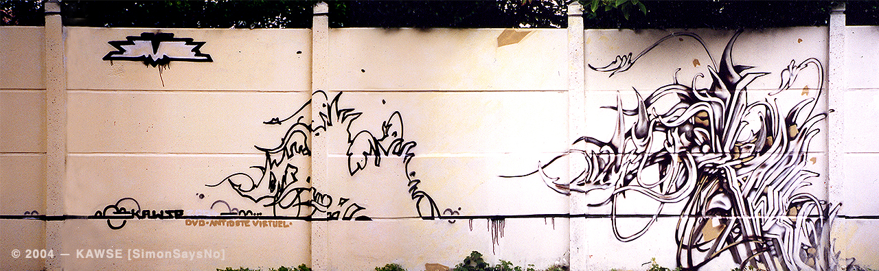 KAWSE 2004 – AVOID [Graffiti]