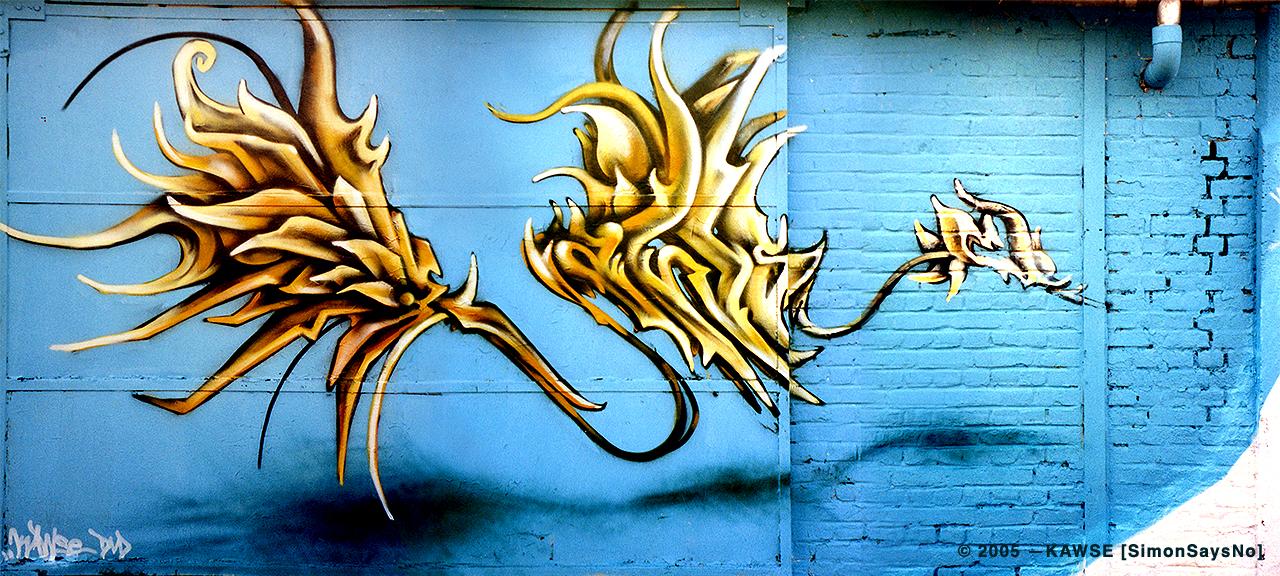 KAWSE 2005 — SHINING [Graffiti]