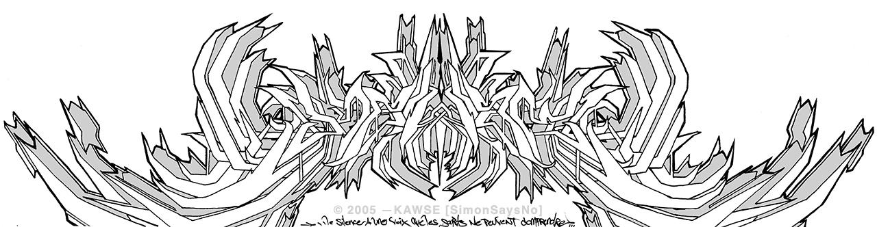 KAWSE 2005 — HARDCORE WILD STYLE [Sketch]