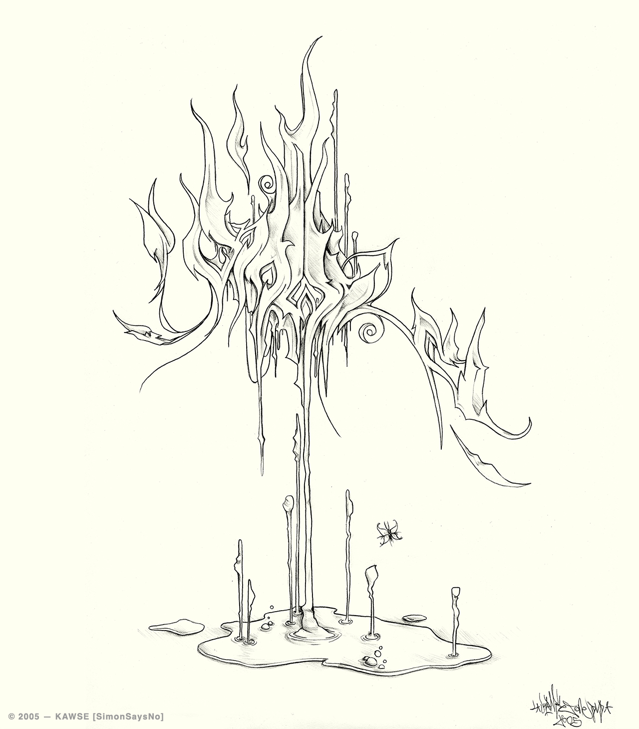 KAWSE 2005 — HIGHER [Sketch]