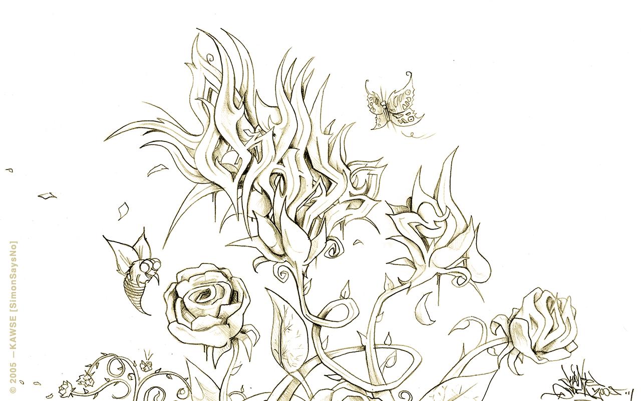 KAWSE 2005 – END OF A COLLECTIVE UTOPIA  [Sketch]
