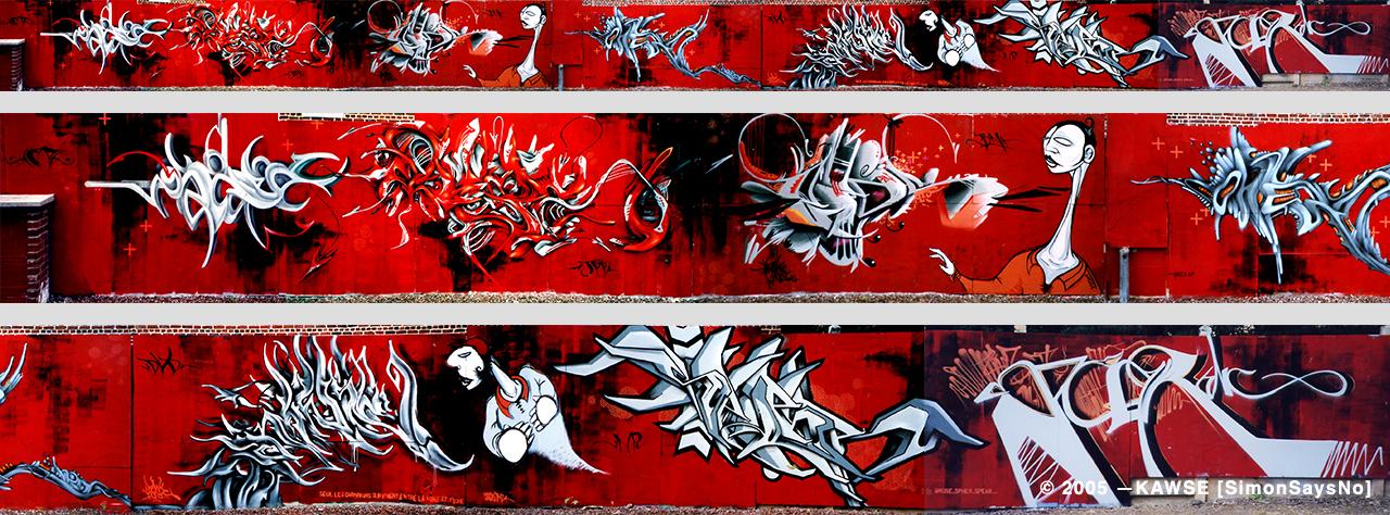 KAWSE 2004 – RHUM IN FULL EFFECT [Wall]