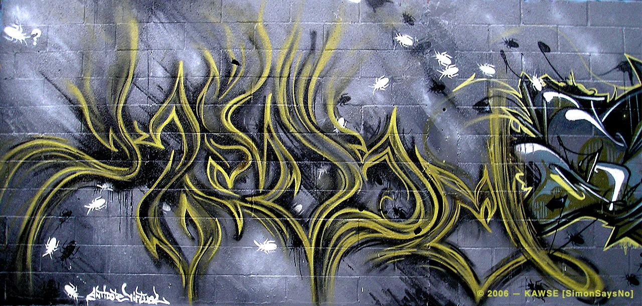 KAWSE 2006 – COCKROACHES  [Graffiti]