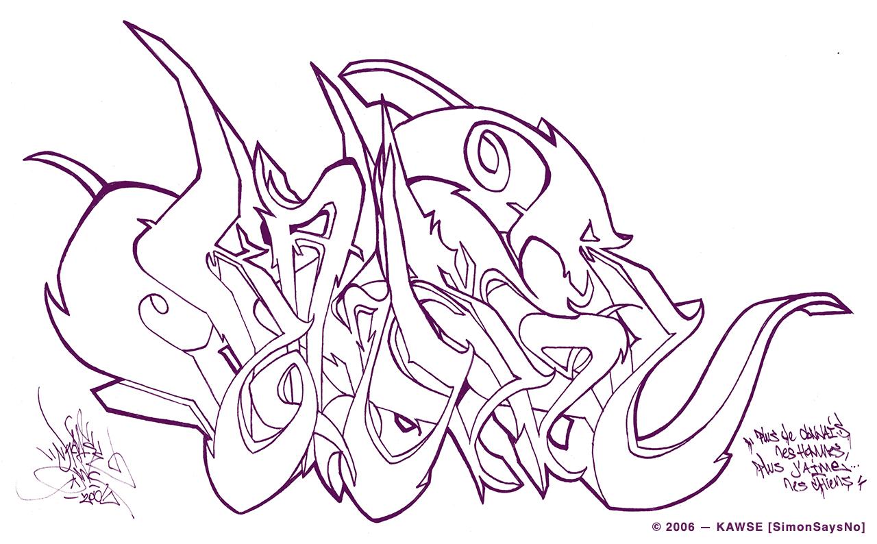KAWSE 2006 – LES CHIENS [Sketch]