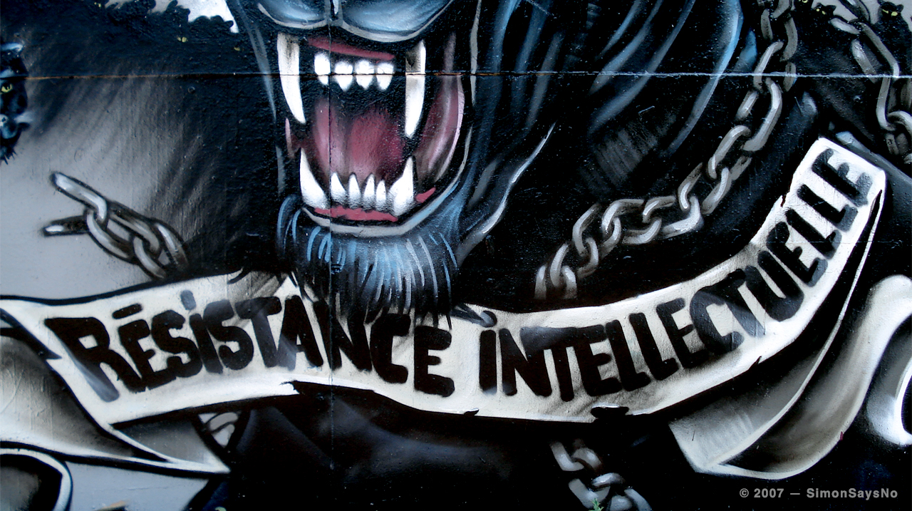 KAWSE 2007 — RESISTANCE INTELLECTUELLE