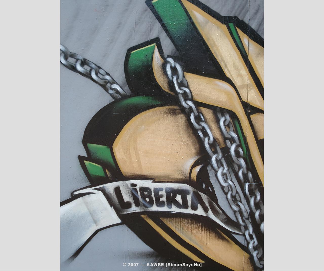 KAWSE 2007 — LIBERTA [Detail]
