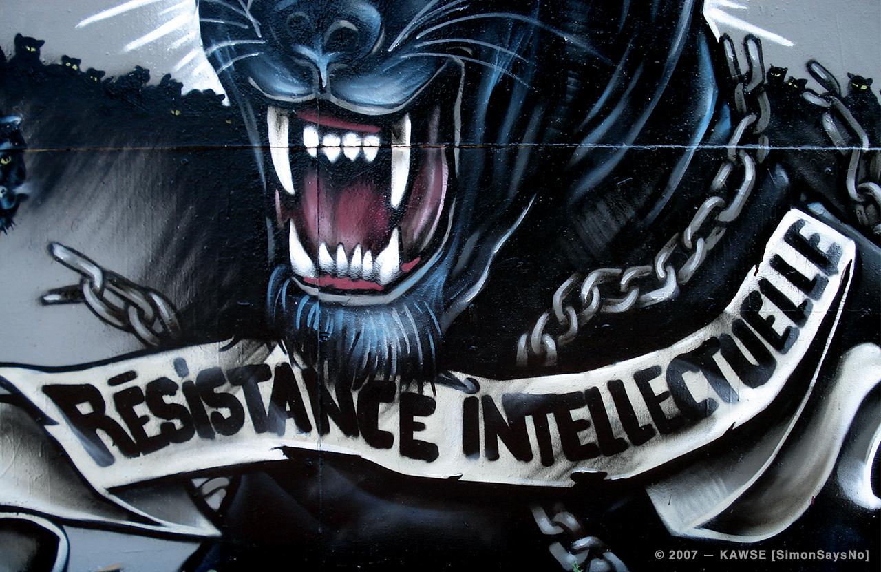 KAWSE 2007 — RESISTANCE ANIMALE [Illustration]