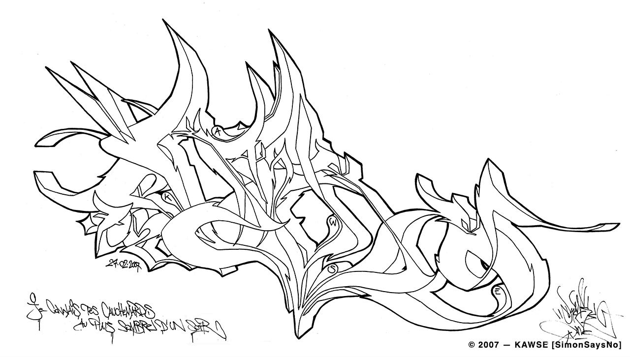KAWSE 2007 — CAUCHEMARD [Sketch]