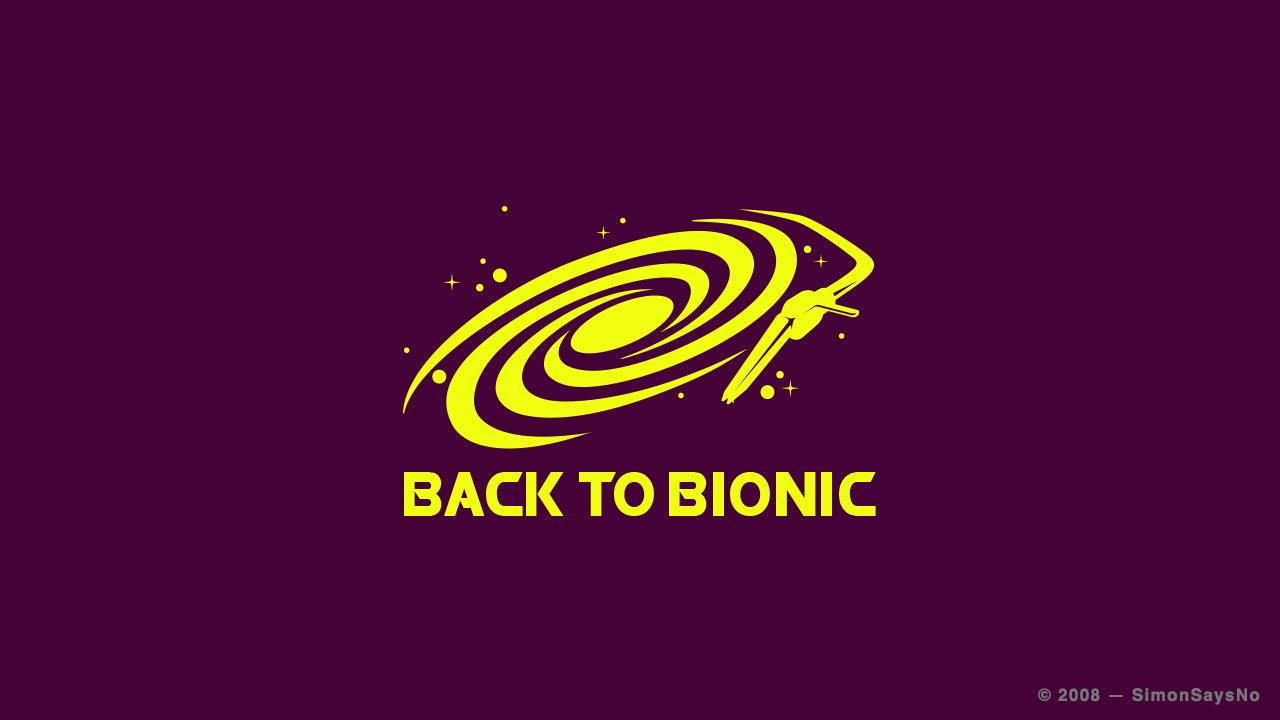 BACK TO BIONIC 2008  — LOGOTYPE