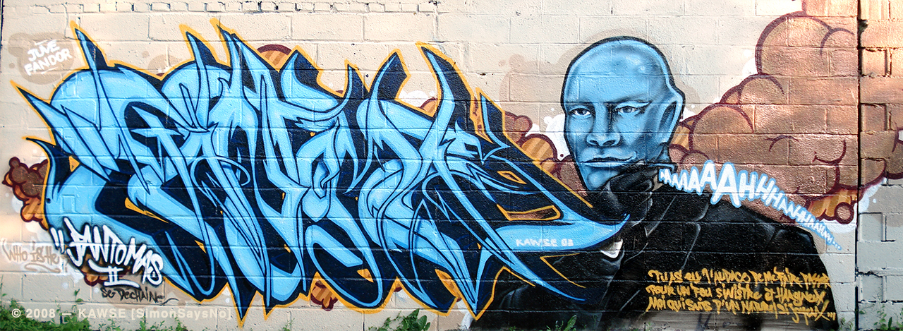 KAWSE 2008 — aka FANTOMAS II [Graffiti]