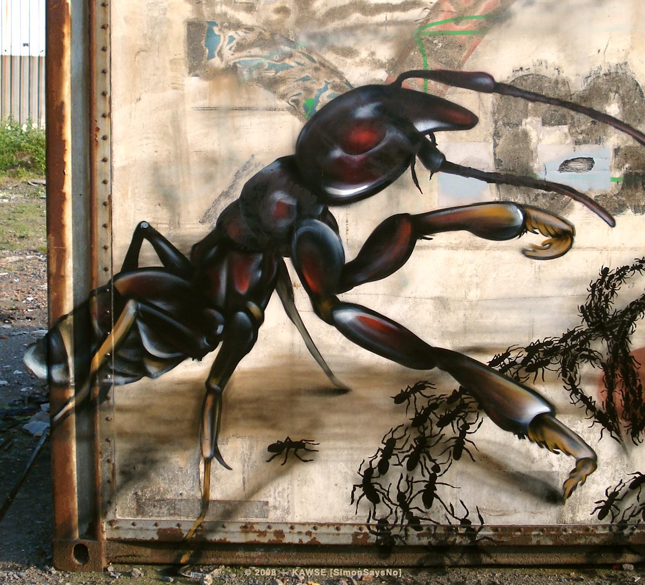 KAWSE 2008 — ANTS [Graffiti]