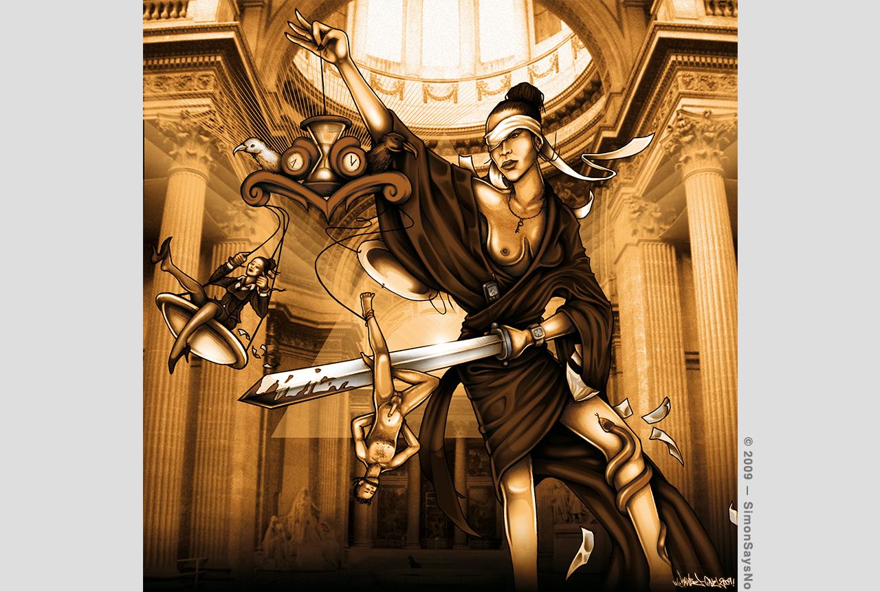 ANTIDOTE VIRTUEL / KAWSE 2009 — MADEMOISELLE JUSTICE