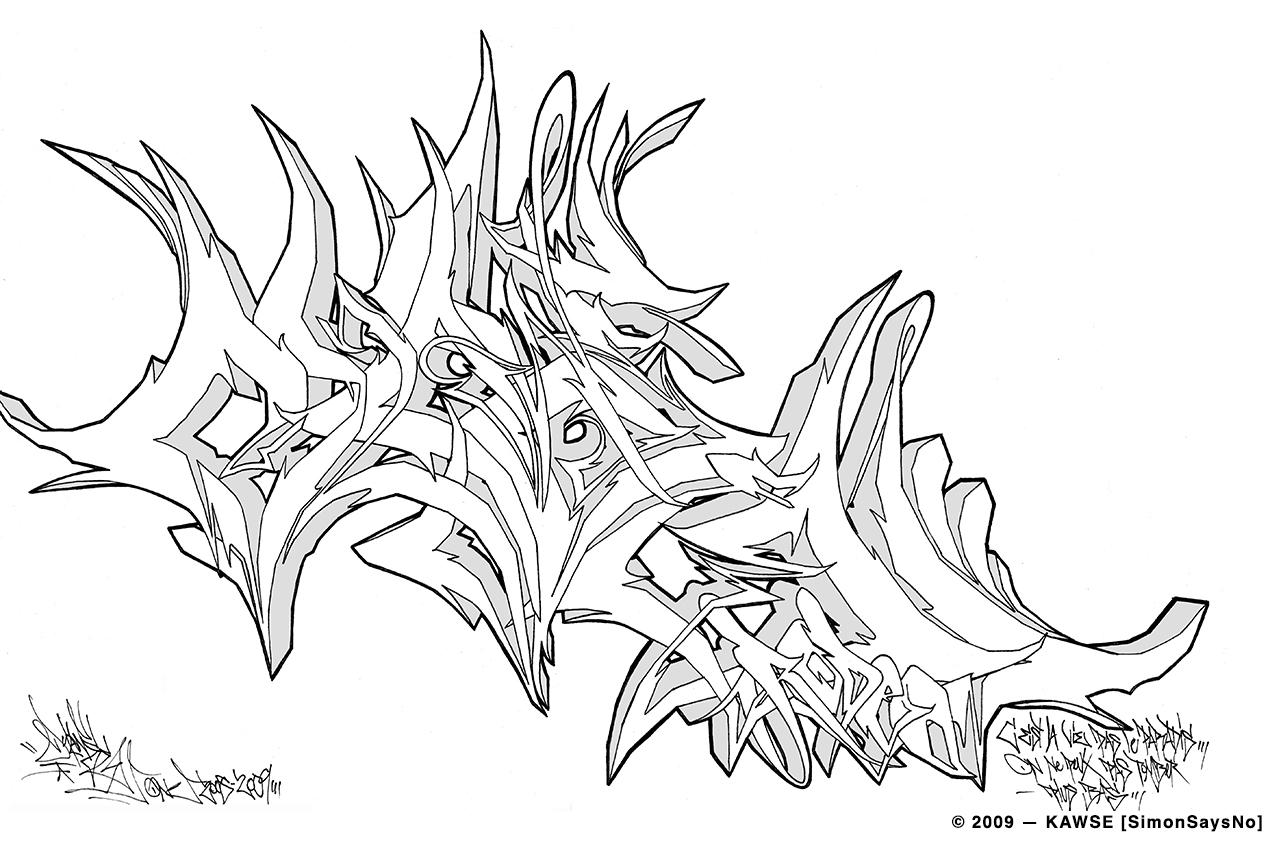 KAWSE 2009 —  RODEO [Sketch]