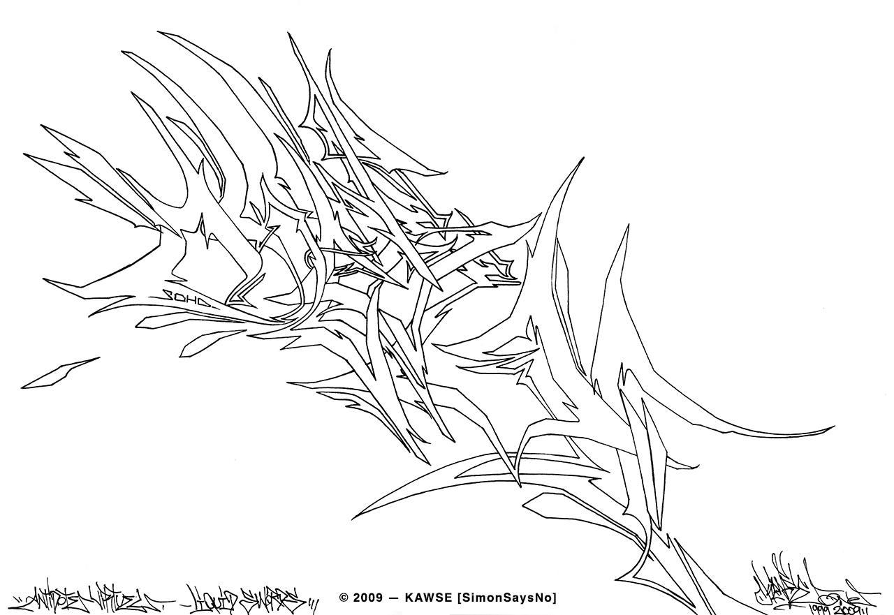 KAWSE 2009 — SHARP WILDSTYLE [Sketch]