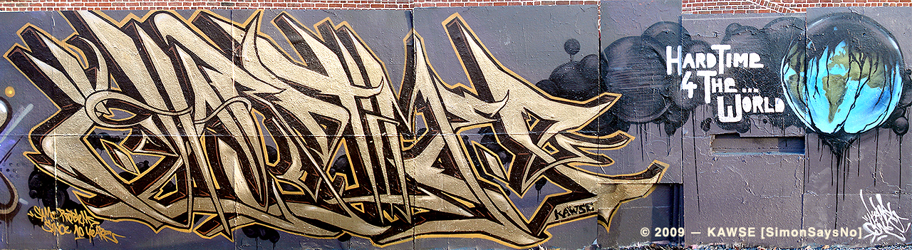 KAWSE 2009 — HARDTIME [Graffiti]