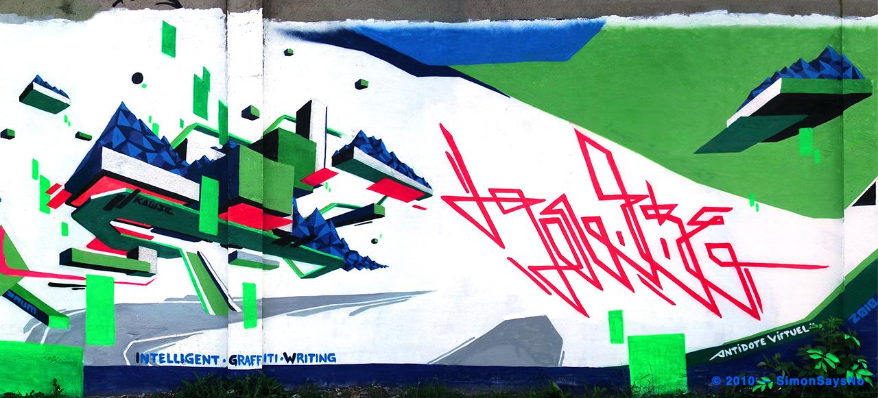 KAWSE 2010 — INTELLIGENT GRAFF WRITING