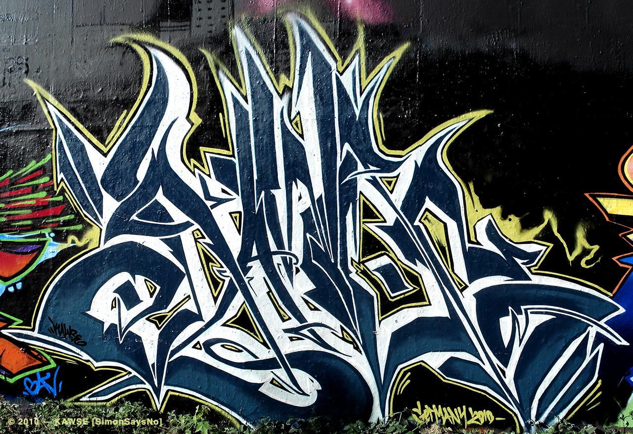 KAWSE 2010 — BORDERLINE [Graffiti]
