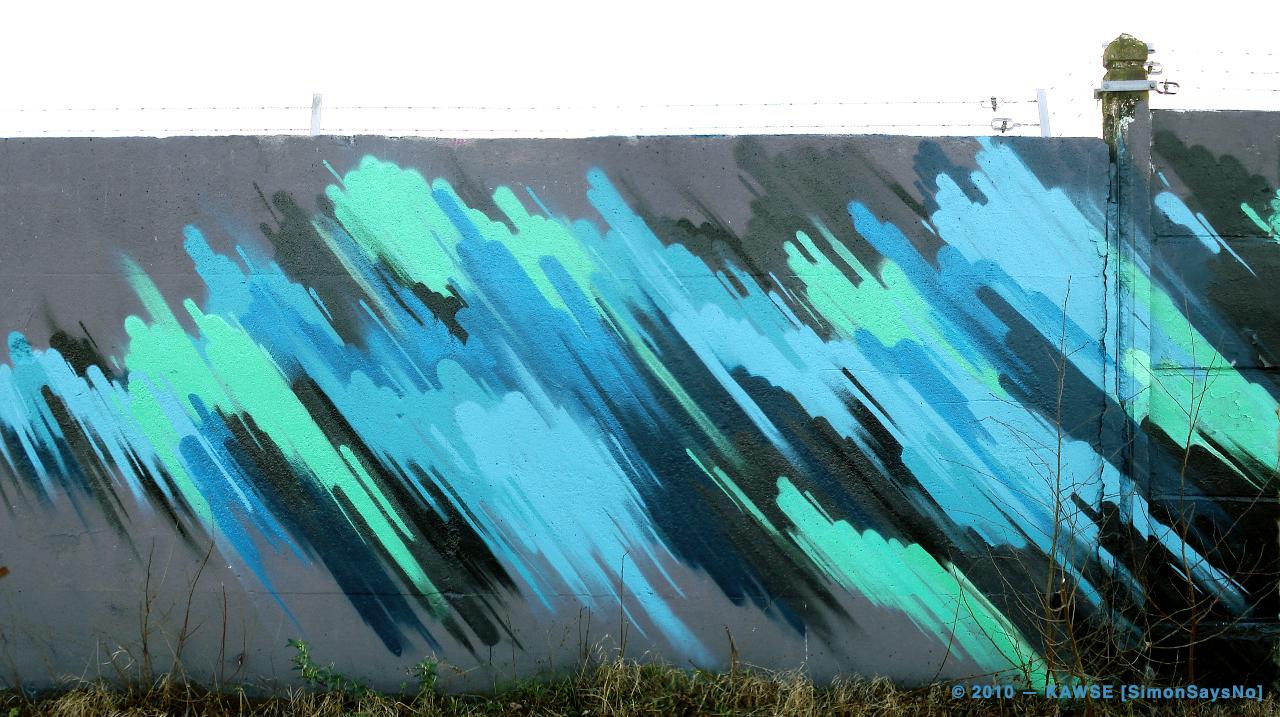 KAWSE 2010 — SOMETHING GOES WRONG [Graffiti]
