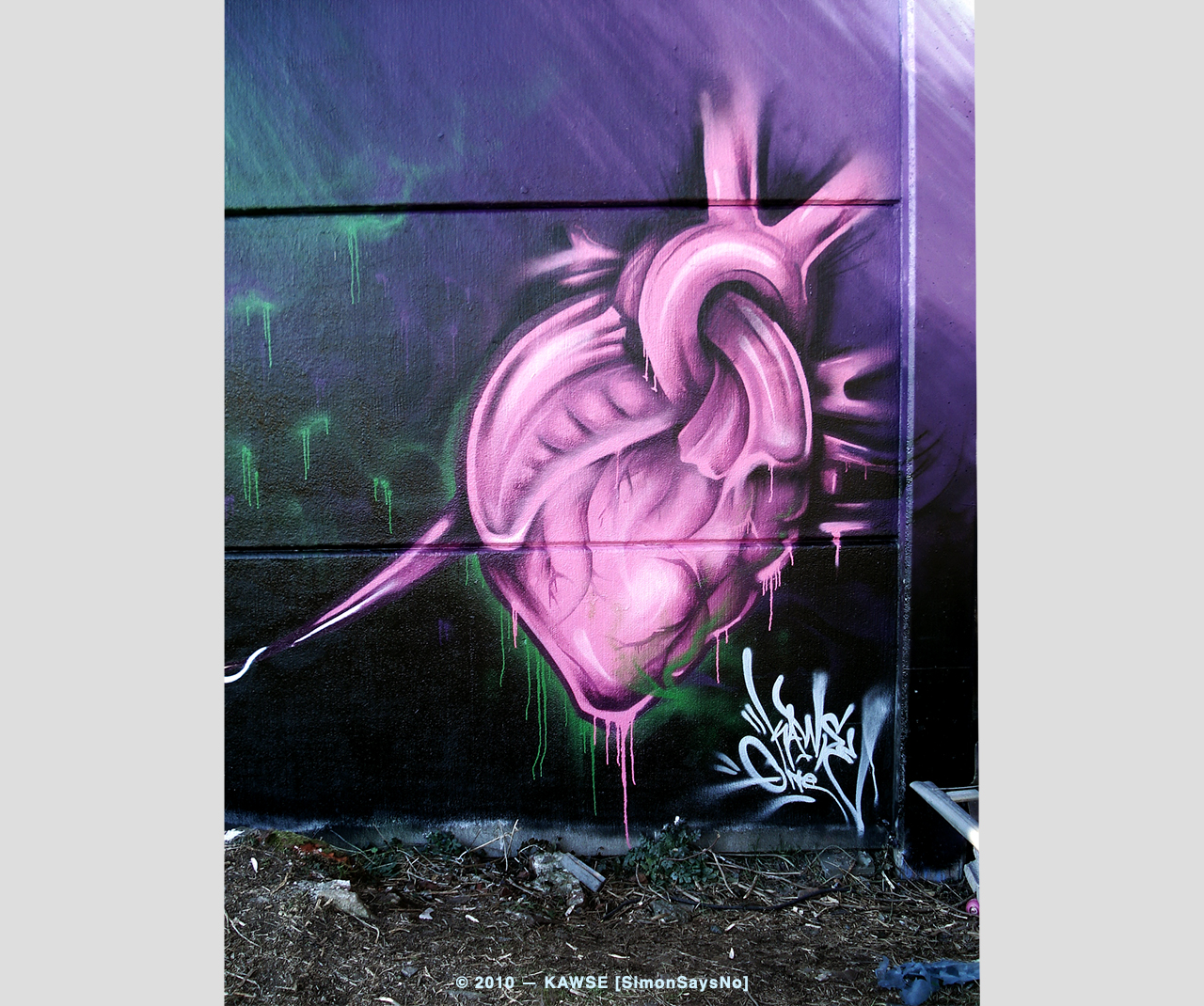 KAWSE 2010 — FROM THE HEART [Illustration]