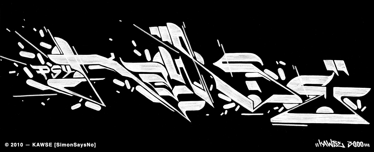 KAWSE 2010 — POST-FUTURE [Sketch]