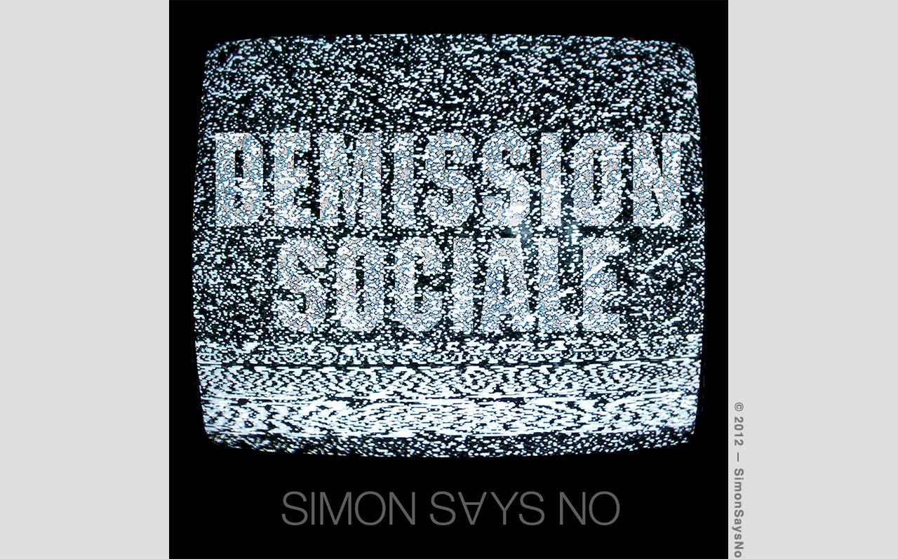 SIMON 2012 —DEMISSION SOCIALE