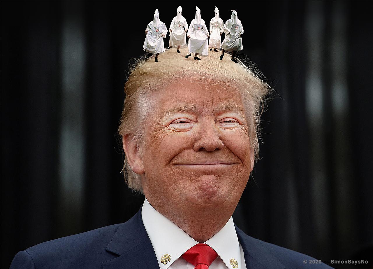 SIMONSAYS NO 2020 — TRUMP THE KING OF DRAMEDY